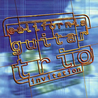 California Guitar Trio - Invitation CD (album) cover