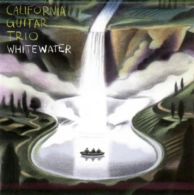 Whitewater by CALIFORNIA GUITAR TRIO album cover