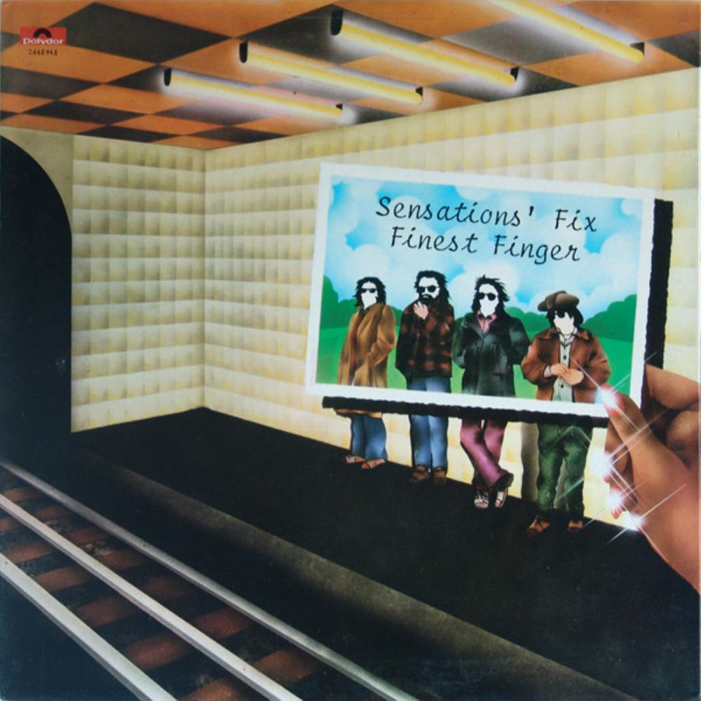 Finest Finger by SENSATIONS' FIX album cover