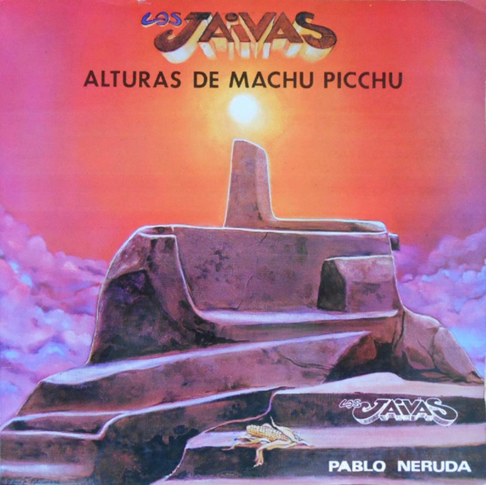 Los Jaivas - Alturas De Machu Picchu CD (album) cover