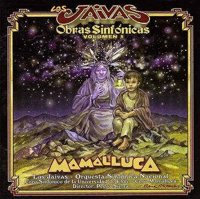 Los Jaivas - Mamalluca CD (album) cover