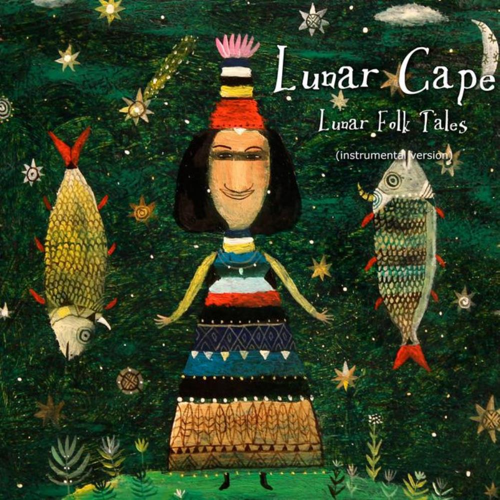 Lunar Folk Tales (instrumental version) by LUNAR CAPE album cover