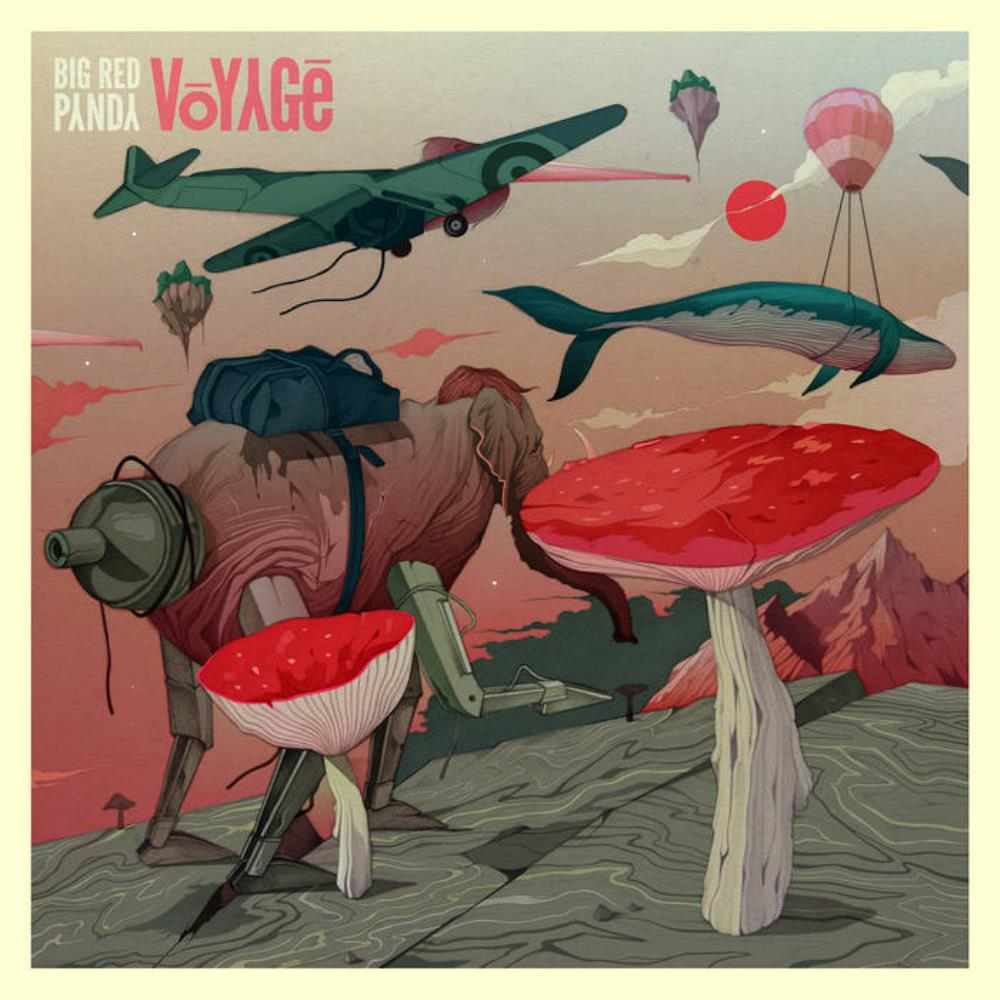 Voyage by BIG RED PANDA album cover