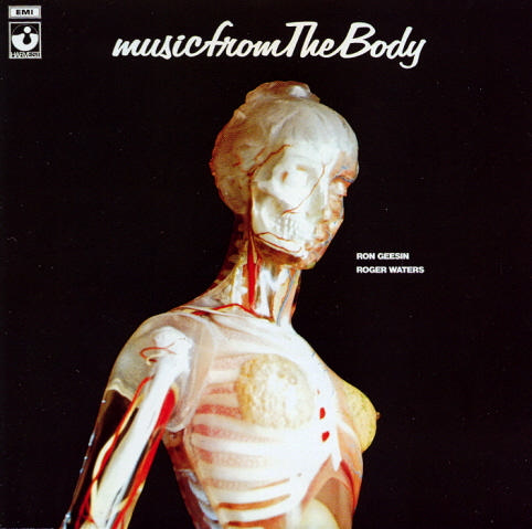 Roger Waters - Music From The Body (with Ron Geesin)* CD (album) cover