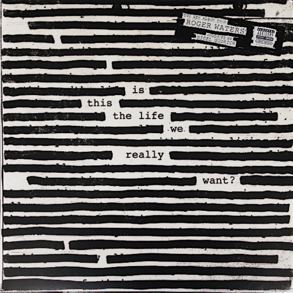 Roger Waters - Is This The Life We Really Want ? CD (album) cover