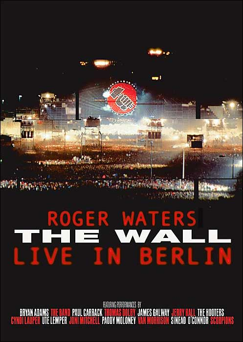 Roger Waters - The Wall Live in Berlin CD (album) cover
