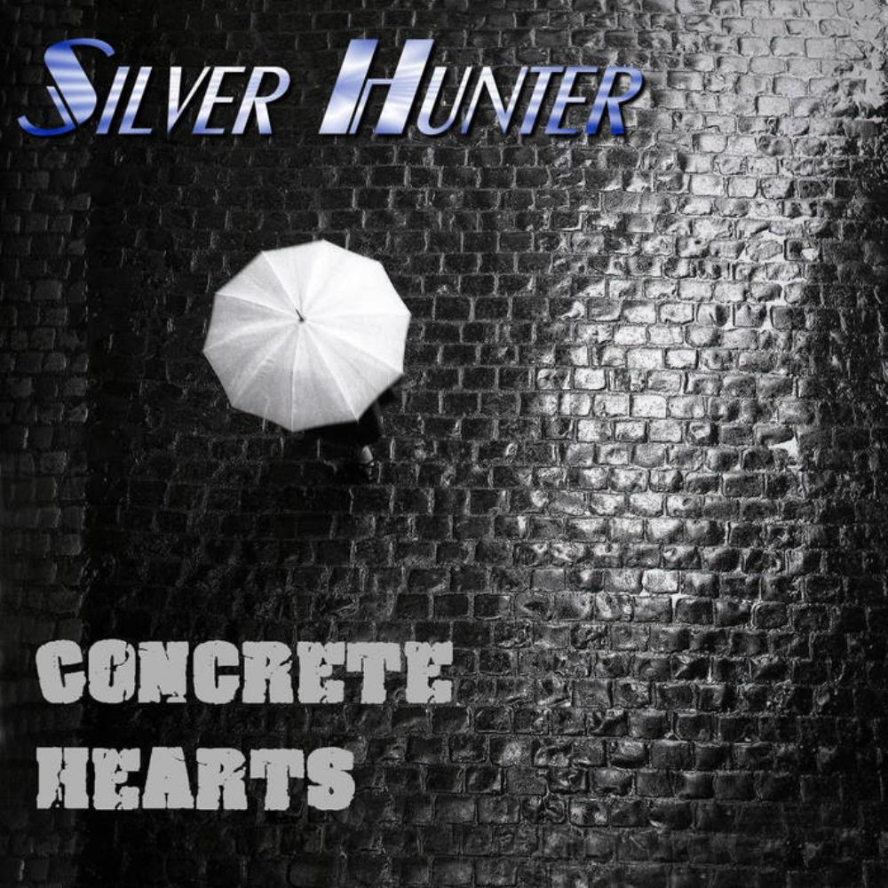 Concrete Hearts by SILVER HUNTER album cover