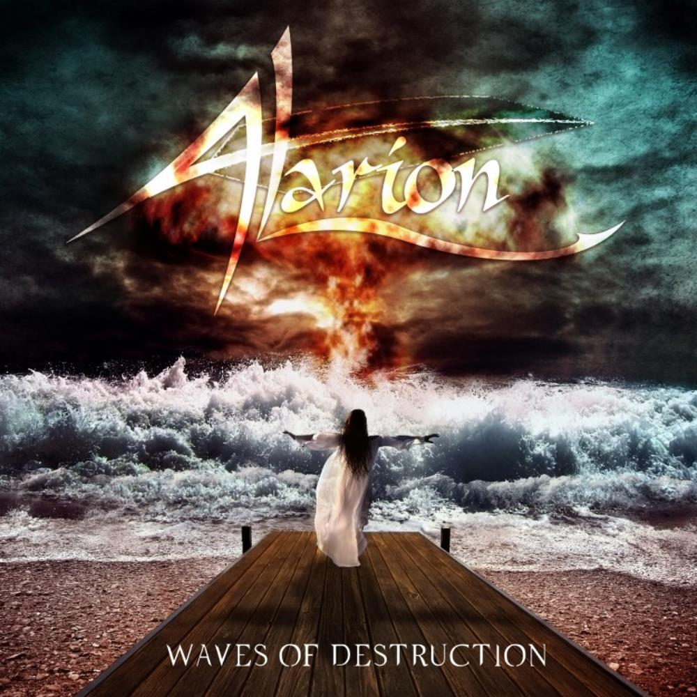 Alarion Waves of Destruction album cover