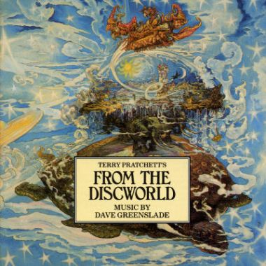 Dave Greenslade - From The Discworld CD (album) cover