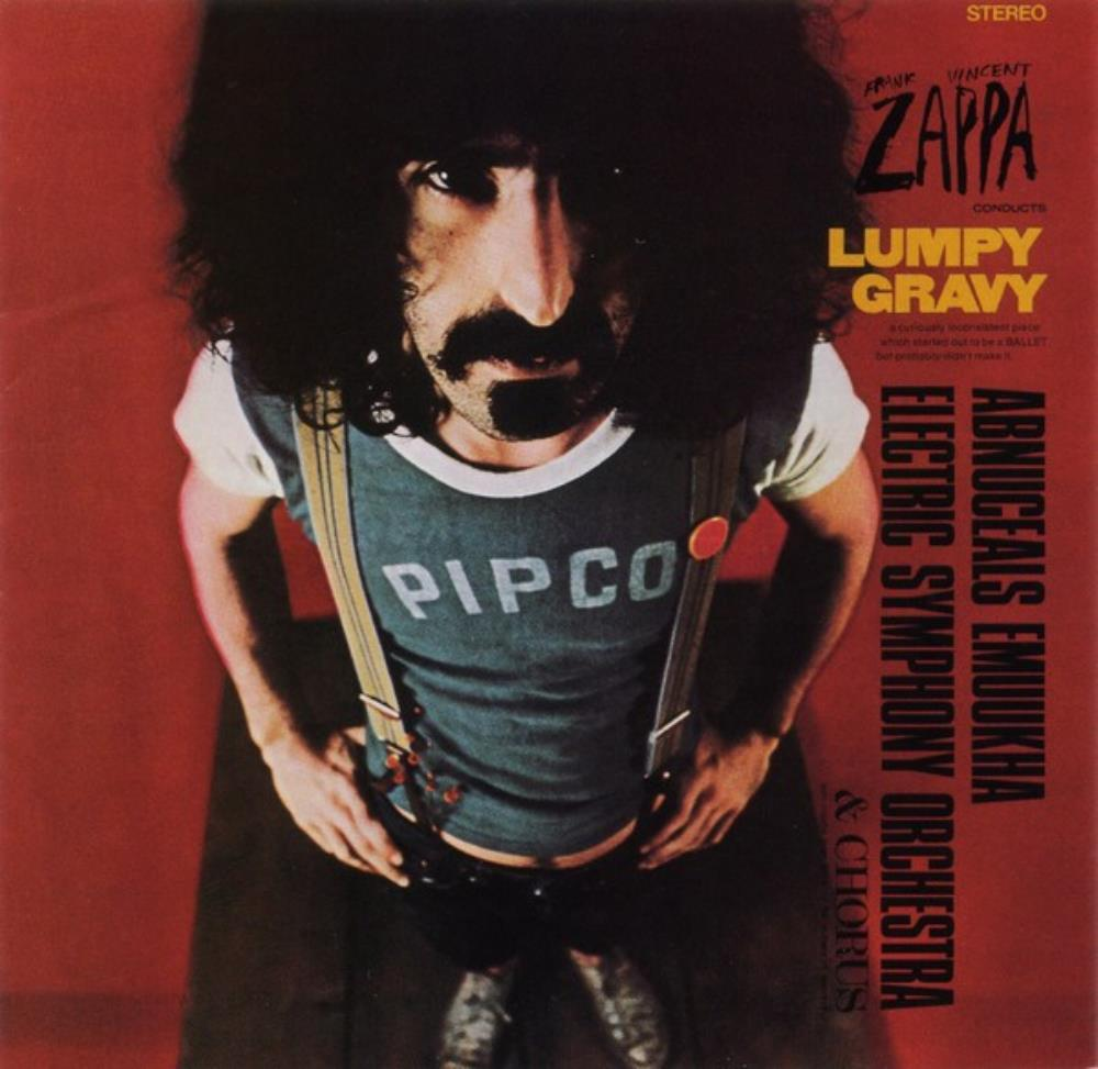Frank Zappa - Lumpy Gravy CD (album) cover