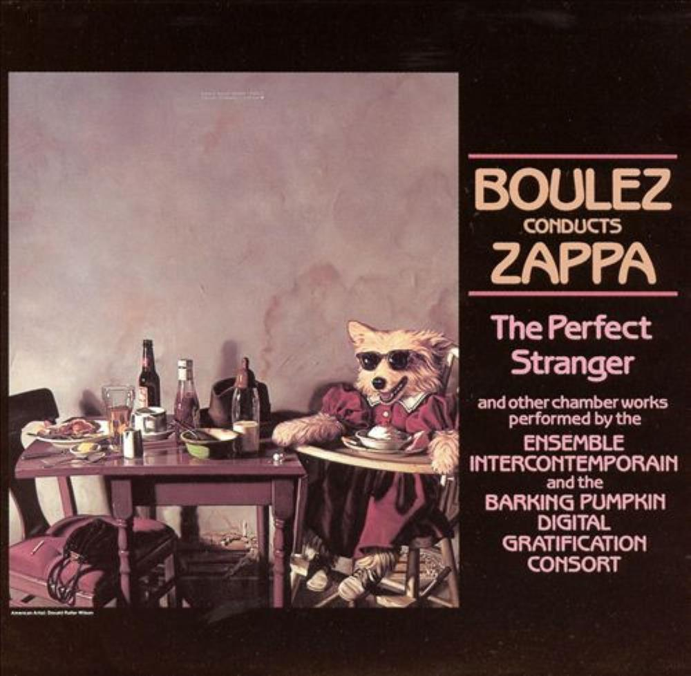 Frank Zappa - Boulez Conducts Zappa: The Perfect Stranger CD (album) cover