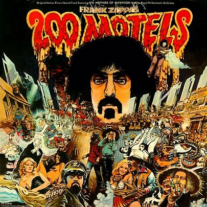 Frank Zappa - 200 Motels CD (album) cover