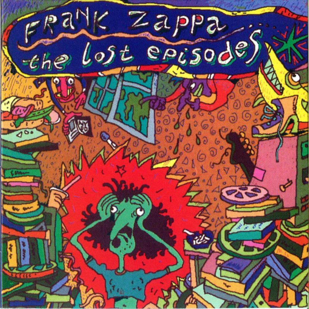 Frank Zappa - The Lost Episodes CD (album) cover