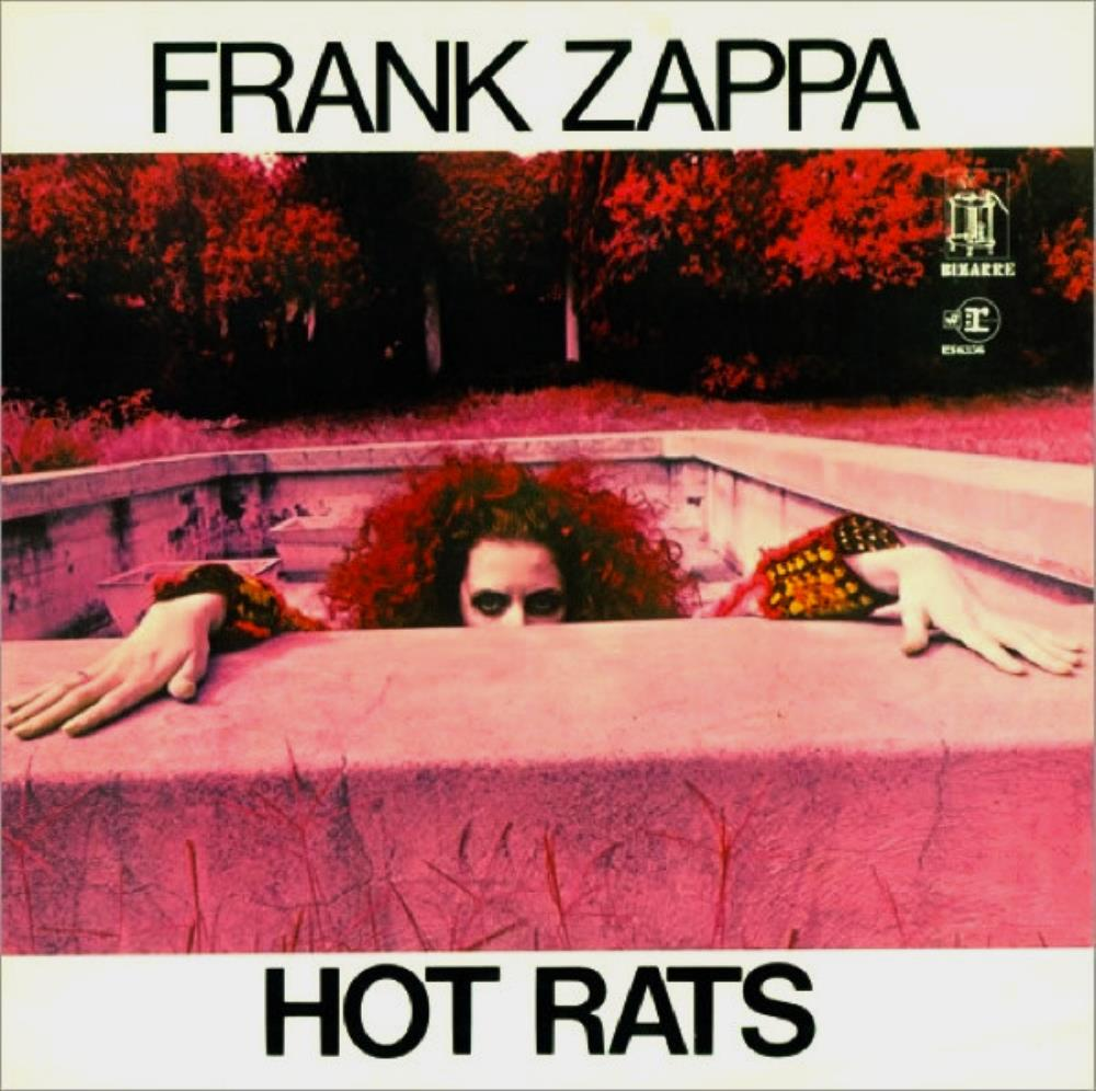 Frank Zappa - Hot Rats CD (album) cover