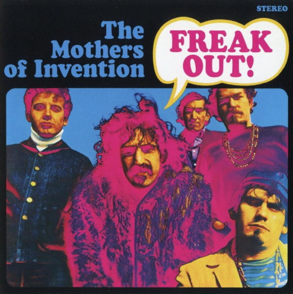 Frank Zappa - The Mothers Of Invention: Freak Out! CD (album) cover