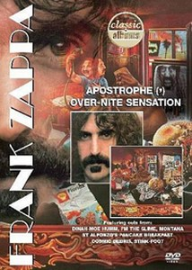 Frank Zappa Apostrophe (') Over-Nite Sensation album cover