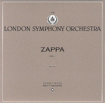 Frank Zappa London Symphony Orchestra Vol. I album cover