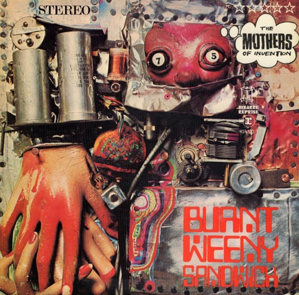 Frank Zappa - The Mothers Of Invention: Burnt Weeny Sandwich CD (album) cover
