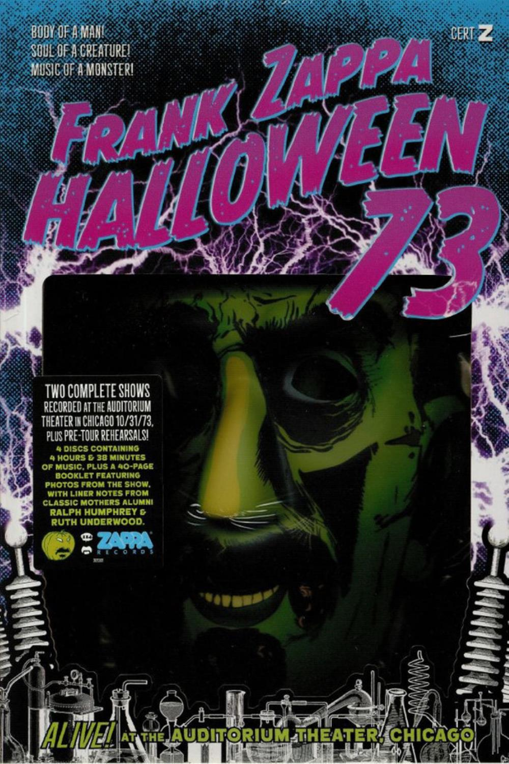 Halloween 73 by ZAPPA, FRANK album cover