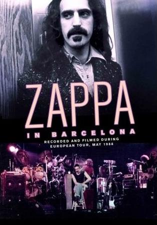Frank Zappa - Zappa In Barcelona CD (album) cover