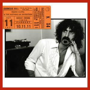Frank Zappa Carnegie Hall album cover