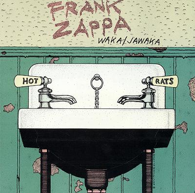Frank Zappa - Waka / Jawaka CD (album) cover
