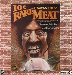 Frank Zappa Rare Meat - Early Productions Of Frank Zappa 12'' album cover