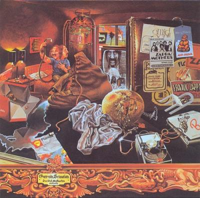 Frank Zappa - Over-Nite Sensation CD (album) cover