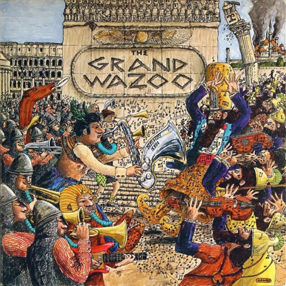 The Grand Wazoo by ZAPPA, FRANK album cover