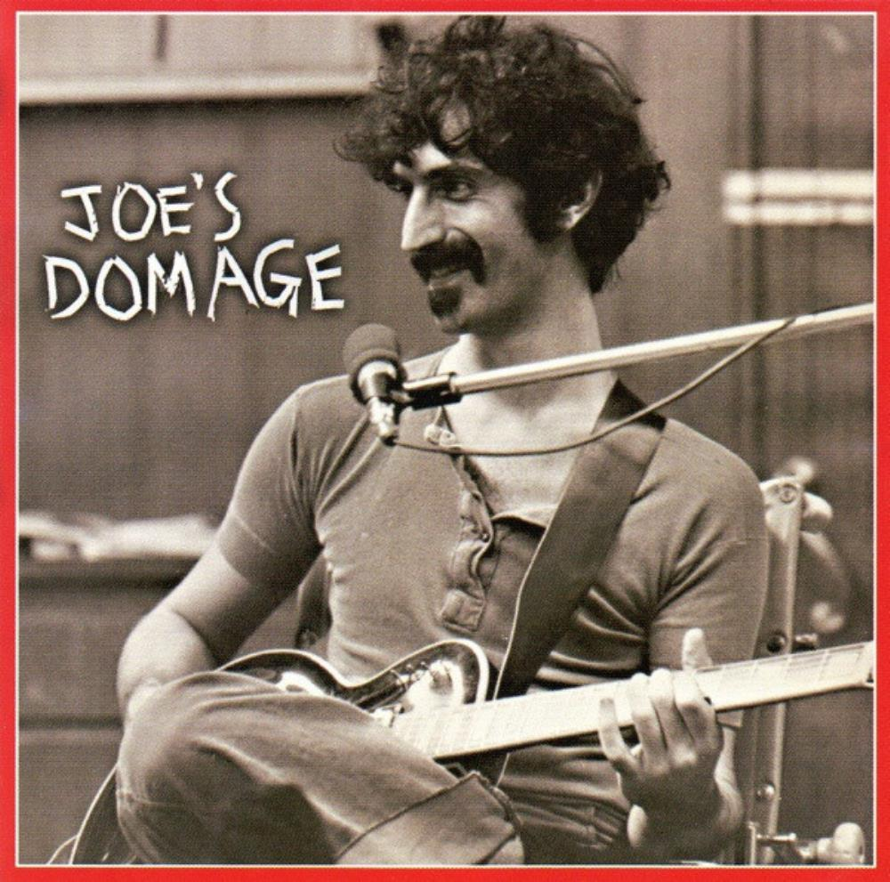 Frank Zappa Joe's Domage album cover