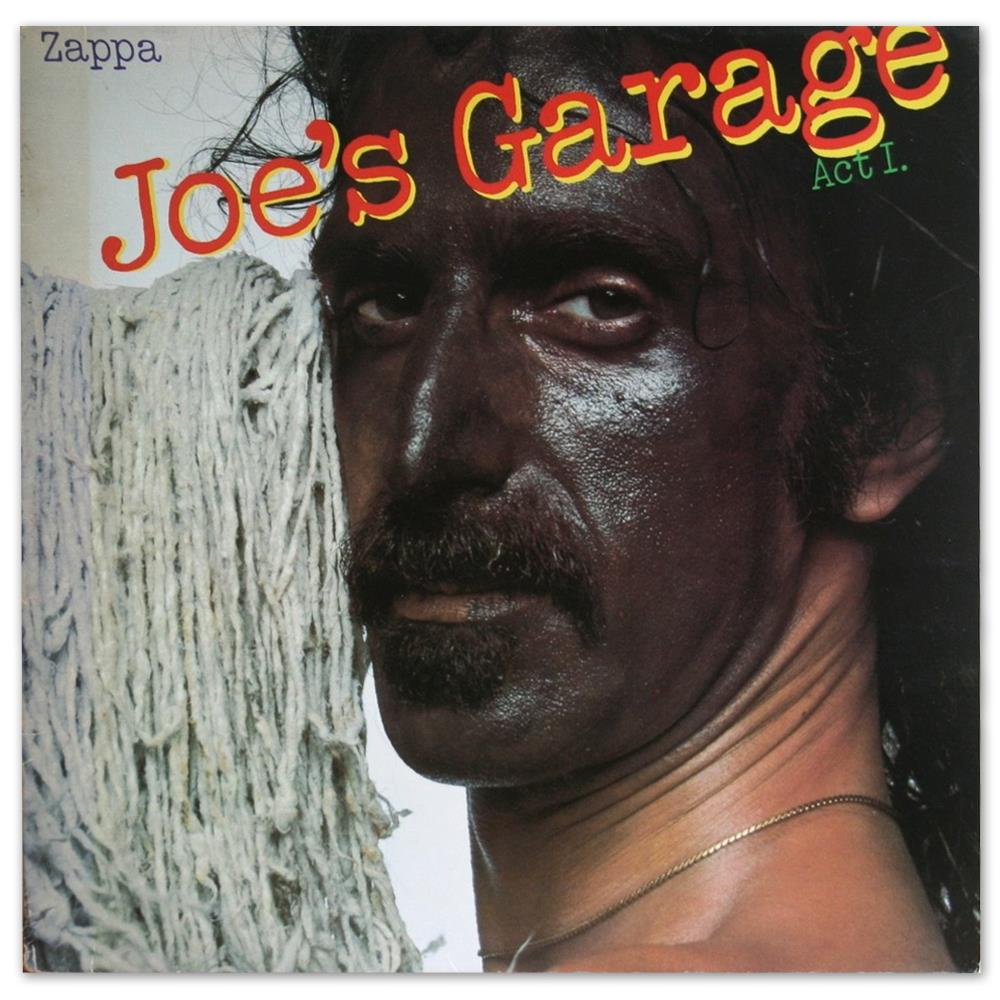 Frank Zappa - Joe's Garage, Act I CD (album) cover