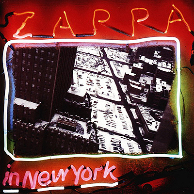 Frank Zappa - Zappa In New York CD (album) cover