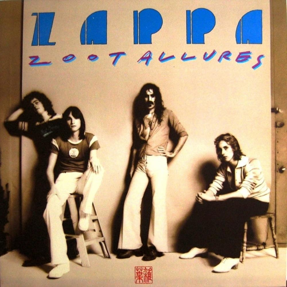 Frank Zappa - Zoot Allures CD (album) cover