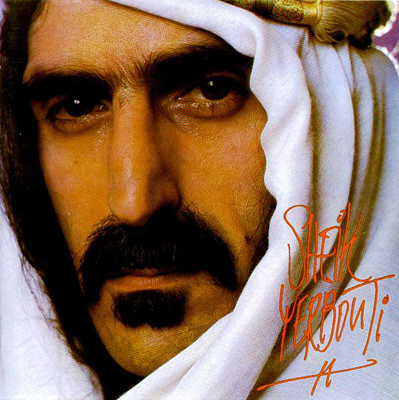 Frank Zappa - Sheik Yerbouti CD (album) cover