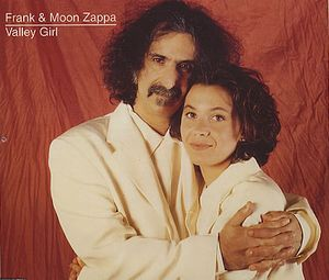 Frank Zappa Valley Girl album cover