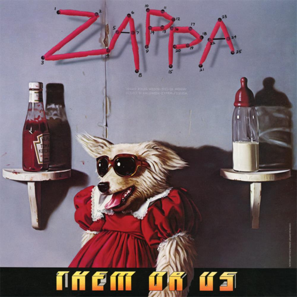 Frank Zappa - Them Or Us CD (album) cover