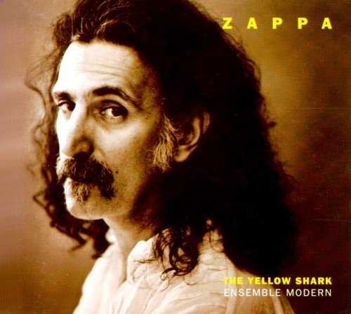 Frank Zappa - The Yellow Shark CD (album) cover