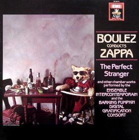 Frank Zappa The Perfect Stranger album cover