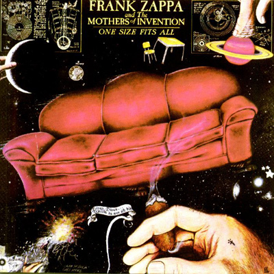 Frank Zappa - One Size Fits All  CD (album) cover