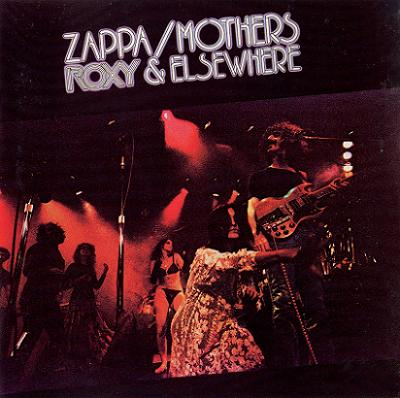 Frank Zappa - Roxy & Elsewhere CD (album) cover
