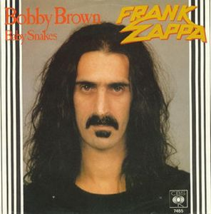 Frank Zappa Bobby Brown album cover