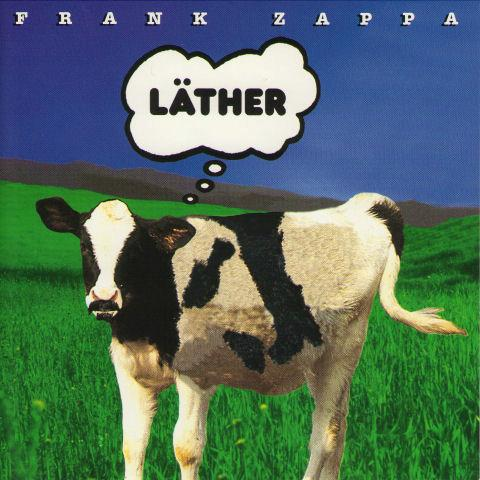 Frank Zappa - L�ther CD (album) cover