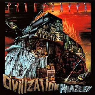 Frank Zappa - Civilization Phaze III CD (album) cover
