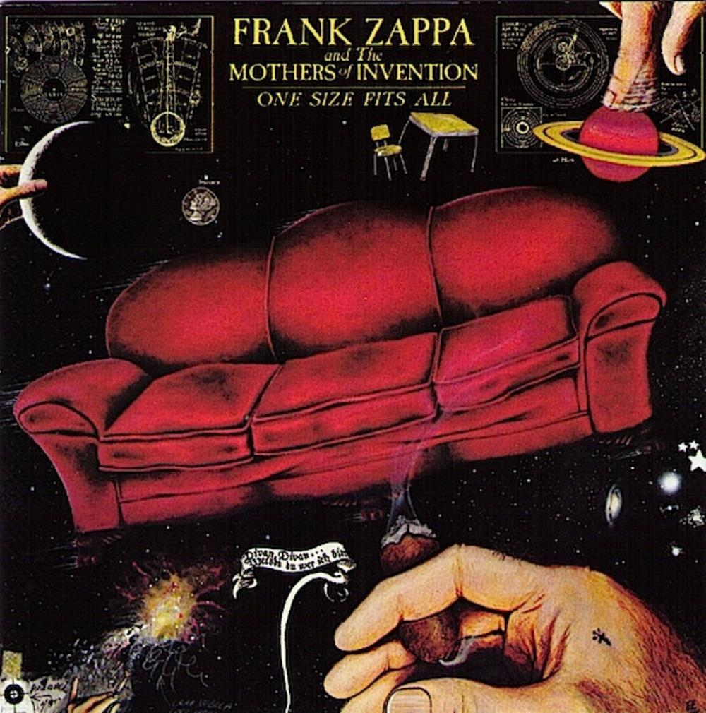Frank Zappa The Mothers Of Invention: One Size Fits All album cover