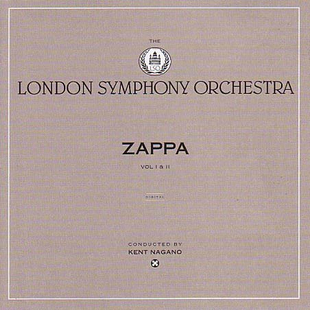 Frank Zappa London Symphony Orchestra Vol. I & II album cover