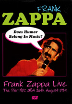 Frank Zappa - Does Humor Belong In Music? CD (album) cover