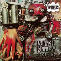 Frank Zappa Burnt Weeny Sandwich album cover