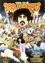 Frank Zappa - 200 Motels (The Movie) CD (album) cover