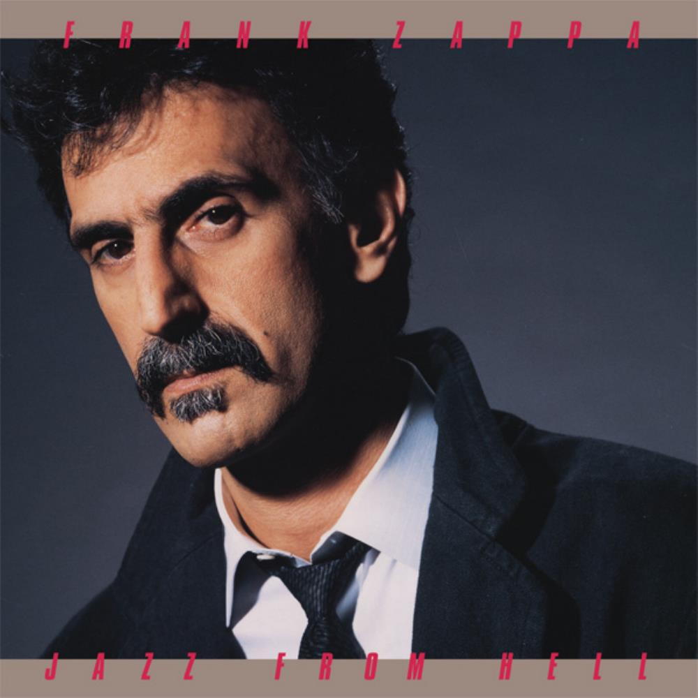 Frank Zappa - Jazz From Hell CD (album) cover