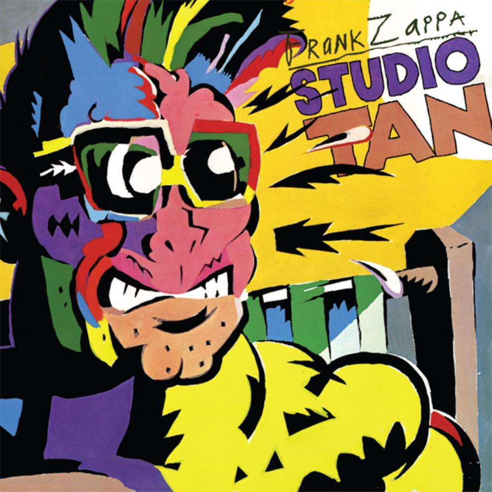 Frank Zappa - Studio Tan CD (album) cover